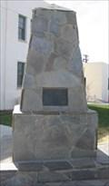 Image for Lancaster War Veterans Memorial Obelisk- Lancaster California
