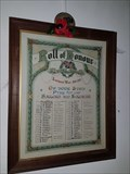 Image for Roll of Honour - St Helen - Colne, Cambridgeshire
