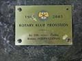 Image for Rotary Club Marker - Prostejov, Czech Republic