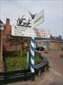 Image for Old A.N.W.B. directionmarker Marssum - Friesland, NL