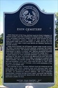 Image for Zion Cemetery