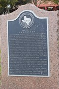 Image for FOUNDER -- of the City of Lancaster TX, Abram Bledsoe, Lancaster TX
