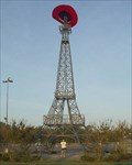 Image for Eiffel Tower With Big Cowboy Hat - Paris, TX