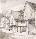 "Image for ""Old Sun Inn, Saffron Walden"" by William Palmer Robins – Old Sun Inn, Church St, Saffron Walden, Essex, UK"