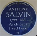 Image for Anthony Salvin - Hanover Terrace, London, UK