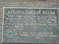 Image for Grave of Alexander Hamilton Willard No. 657