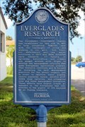 Image for Everglades Research