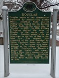 Image for Douglas Historical Marker - Douglas, Michigan