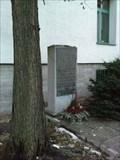 Image for Gedenktafel für die zerstörte Synagoge, Bielefeld, Germany
