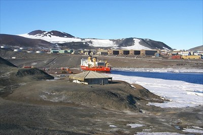This was taken 2/5/2000 on my first visit to Antarctica and McMurdo.
