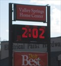 Image for Valley Springs Home Center Sign - Valley Springs, CA