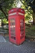 Image for Red Telephone Box - Canonbury Road, London, UK