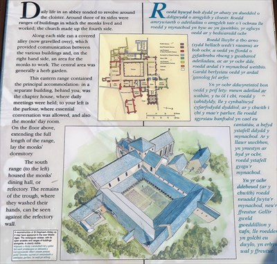 Cloister/Cloestr - St Dogmaels Abbey
