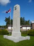Image for ORO TOWNSHIP MEMORIAL -- Oro-Medonte, Ontario