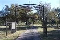 Image for Morrow Chapel Cemetery Arch -- Ola TX