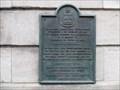 Image for Plaque du premier presbytère Notre-Dame - Québec, Québec
