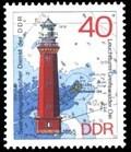 Image for Leuchttürme der DDR, Leuchtturm Greifswalder Oie (40 Pf DDR Briefmarke)