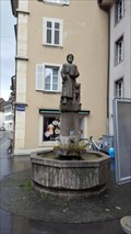 Image for Hartmann von Kyburg-Brunnen - Aarau, AG, Switzerland