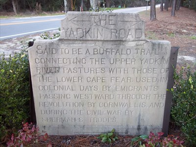 Page Road and NC 211, Pinehurst, NC, one of four tablet markers, one further North on 211, one at traffic circle, and one at May St, Southern Pines, NC (old Manly community)