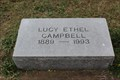 Image for 104 - Lucy Ethel Campbell - Big Springs Cemetery - Garland, TX