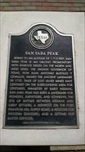 Image for San Saba Peak