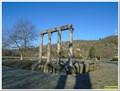 Image for Les colonnes romaines - Riez, Paca, France