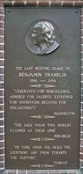 Image for George Washington - Christ Church Burial Ground - Philadelphia, PA