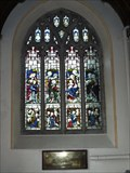 Image for Stained glass window in St Mary's Church, Brixton, Devon