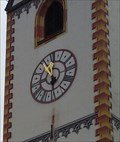 Image for Church Clock - Stadtpfarrkirche St. Mang - Füssen, Germany, BY