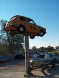 Image for Elevated Car at S & S Auto Salvage in Shawnee, Oklahoma