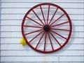 Image for Roue de Wagon - Wagon Wheel - Sainte-Madeleine-de-la-Rivière-Madeleine, Québec