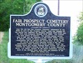 Image for Fair Prospect Cemetery Montgomery County - Highland Home, AL