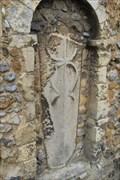 Image for Stone Coffin Lid, St.Andrew's Church, Heybridge Street, Heybridge, Maldon, Essex.
