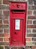 Image for Victorian Wall Post Box - Station Road - Amersham - Buckinghamshire - UK