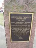 Image for Christopher Frederick Burckhartt Memorial - Fayette, Missouri