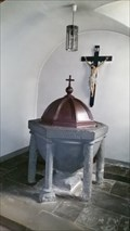Image for Taufbecken St. Victor Kirche - Bad Breisig - RLP - Germany