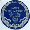 Image for James Clerk Maxwell - Palace Gardens Terrace, London, UK