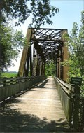Image for Auxvasse Creek Bridge - MKT Railroad - W. of Steedman, MO