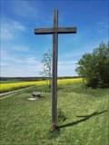Image for Christian Wooden Cross - Belec, Czechia