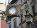 Image for Piazza del Duomo corner clock - Florence, Italy