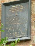 Image for Sundial, Eye Manor, Eye, Herefordshire, England