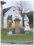 Image for Panna Marie, sv. Ivan a sv. Jan Krtitel /// The Virgin Mary, St. Ivan and St. John the Baptist - Svatý Jan pod skalou, CZ
