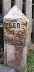 Image for Leeds Liverpool Canal milestone – Apperley Bridge, UK