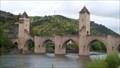 Image for Chemins de Saint-Jacques-de-Compostelle en France -Pont Valentré, Cahors