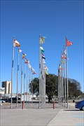 Image for HemisFair Plaza World Flags -- San Antonio TX USA