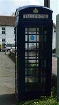 Image for Blue Phone Box, Lower Broadheath, Worcestershire, England