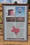 Image for Monitor Vaneless Windmill & JA Oat Bin -- Ranching Heritage Center, Lubbock TX