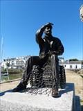 Image for Le pêcheur et son ondine, Quiberon, Morbihan, France