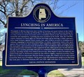 Image for Lynching in America / Lynching in Tuscaloosa County
