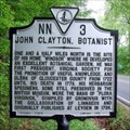 Image for John Clayton, Botanist